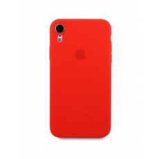 Чехол Apple Silicone Case для iPhone Xr Red