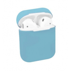 Чехол Apple Silicone Case для AirPods Sky Blue