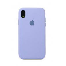 Чехол Apple Silicone Case для iPhone Xr Lavender