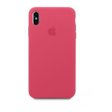 Чехол Apple Silicone Case для iPhone Xs Max Hibiscus