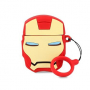 Чехол Apple Silicone Case для AirPods Iron Man