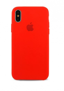 Чехол Apple Silicone Case для iPhone Xs Max Red