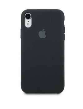Чехол Apple Silicone Case для iPhone Xr Black