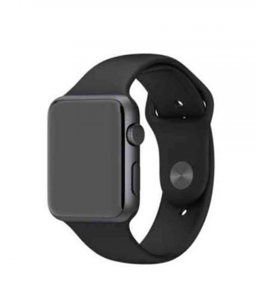 Ремешок для Apple Watch Silicon 42/44 mm Black