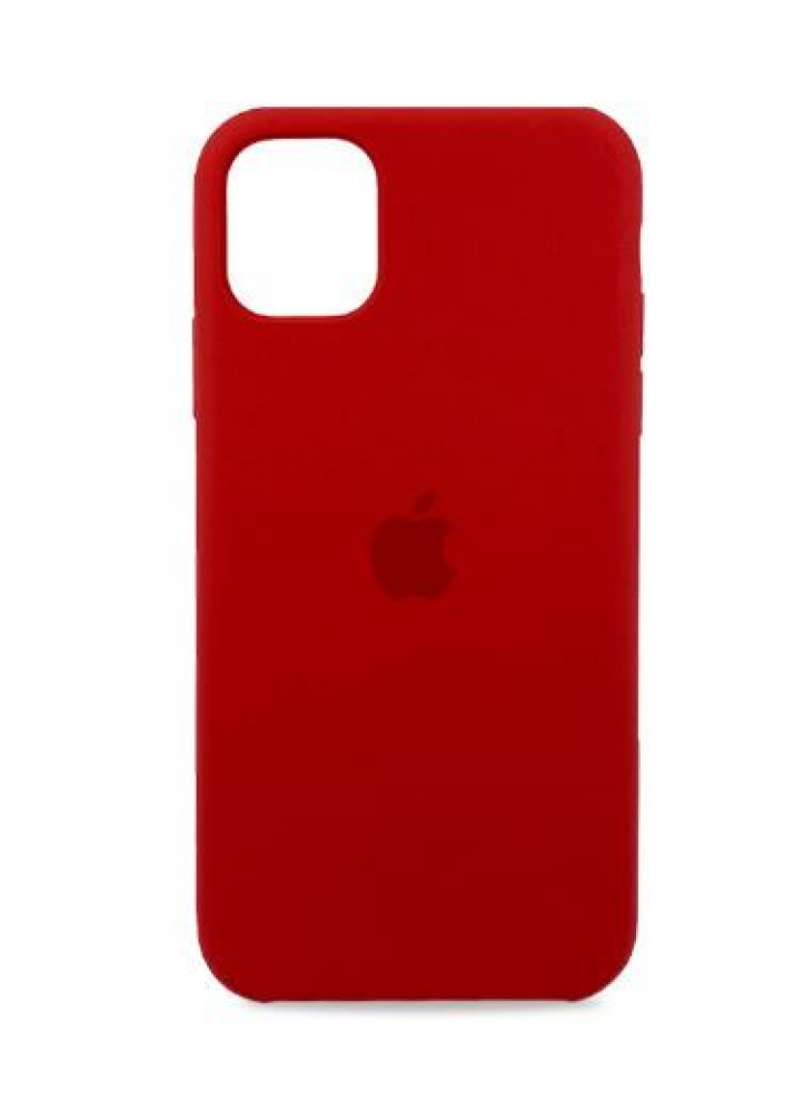 Чехол Apple Silicone Case для iPhone 11 Red