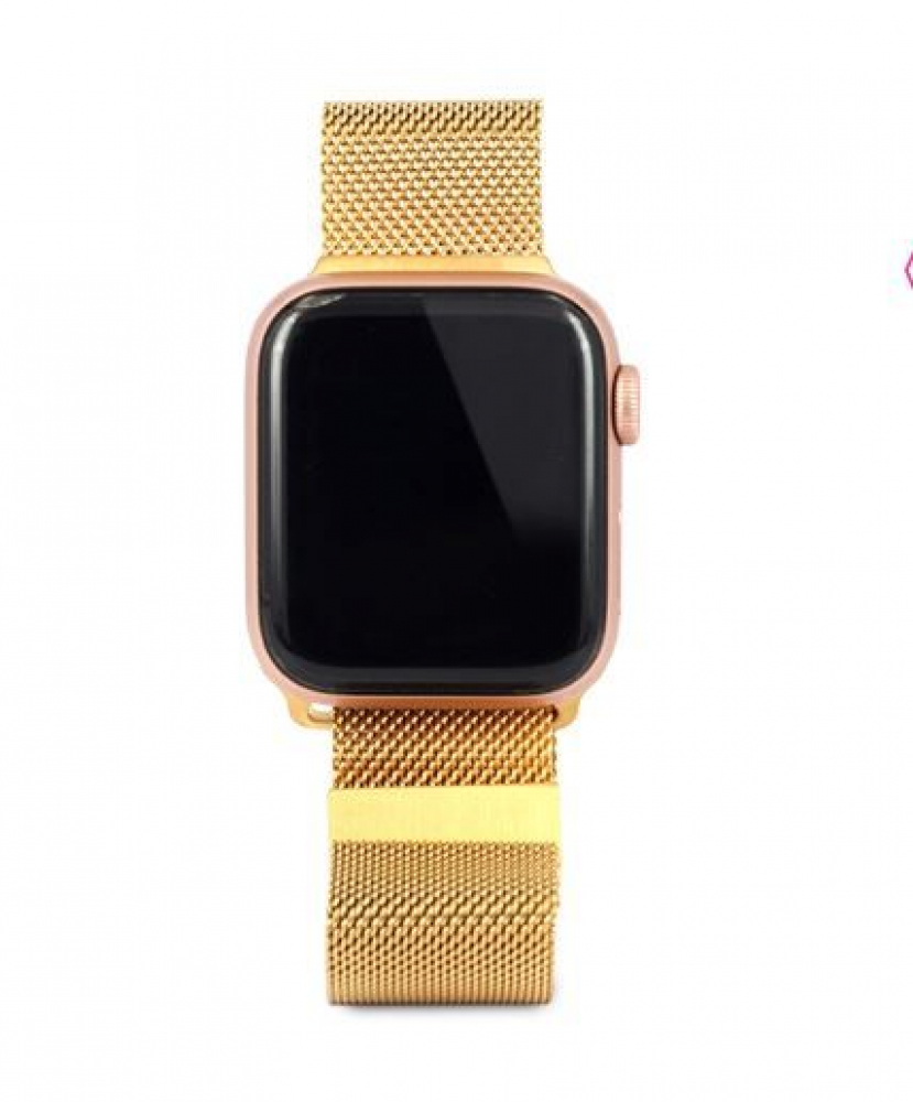Ремешок для Apple Watch Миланская петля 38/40 mm Lemon gold